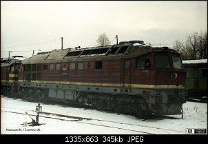 Нажмите на изображение для увеличения.  Название:Тепловоз ТЭ109-033. Шушары, Санкт-Петербург.jpg Просмотров:27 Размер:345.2 Кб ID:30477